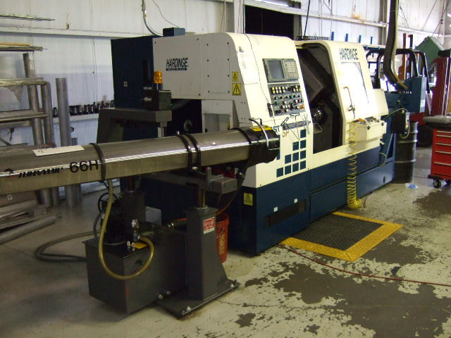 Machine 5128, Hardinge Quest 8/51SP CNC Lathe, Live Tools, Y-Axis, C-Axis, Spego Bar Feeder, 2001